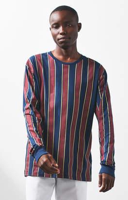 PacSun Glitch Stripe Long Sleeve T-Shirt