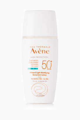Avene Spf50 Mineral Light Mattifying Sunscreen Lotion, 50ml - Colorless