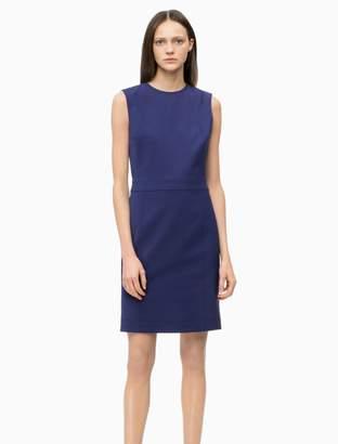 Calvin Klein cotton stretch sleeveless dress