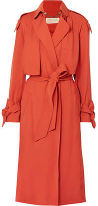 MICHAEL Michael Kors Belted Cady Trench Coat