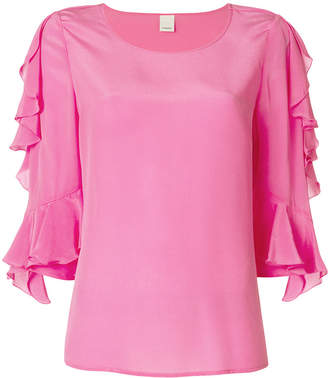 Pinko three-quarter sleeve blouse