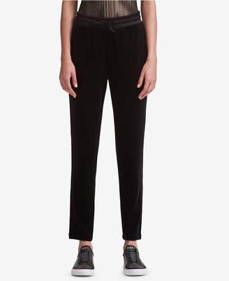 DKNY Velvet Pull-On Pants
