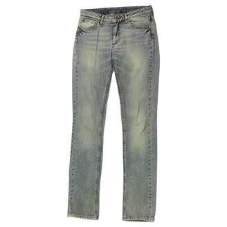 Comptoir des Cotonniers Blue Cotton Jeans for Women