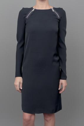 J Brand Ready to Wear Agath Dress Navy