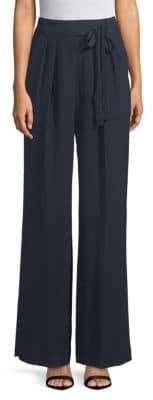 Rebecca Taylor Crepe Wide-Leg Pants