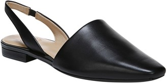 Naturalizer Leather Slingback Flats - Kerrie