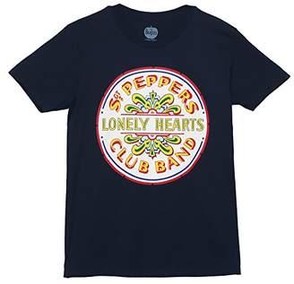 Bravado Men's The Beatles Lonely Hearts Seal T Shirt