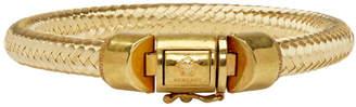 Versace Gold Rope Bracelet