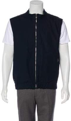 Salvatore Ferragamo Reversible Lightweight Vest