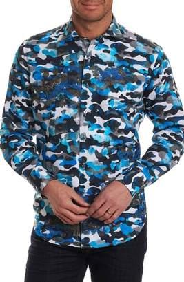 Robert Graham Blue De Skies Limited Edition Classic Fit Sport Shirt