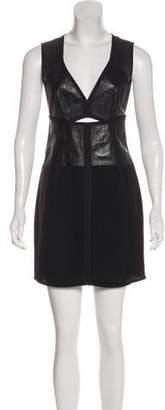 Alexander Wang Sleeveless Leather Dress
