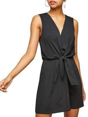 Miss Selfridge Knot Front Dress