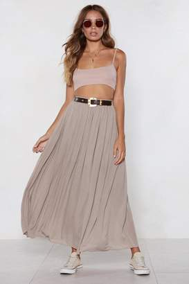 Nasty Gal Give It a Spin Maxi Skirt