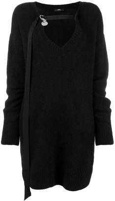 Diesel loose knitted dress