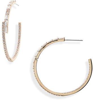 Nordstrom Radiant Inside-Out Hoop Earrings