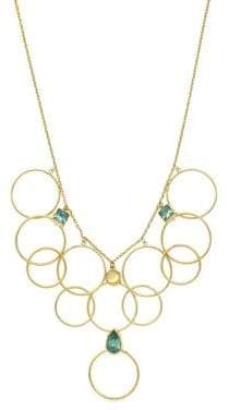 Jessica Simpson Opalescence Multi-Ring Statement Necklace