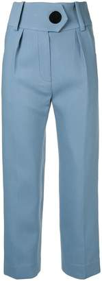 Petar Petrov Hayden high waisted tailored trousers