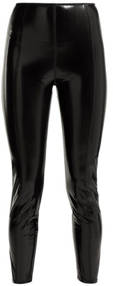 Lisa Marie Fernandez Karlie Pvc Leggings - Womens - Black