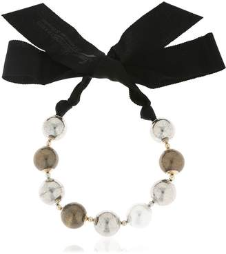 Lanvin Faux Pearl Necklace