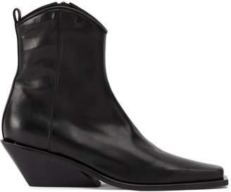 Ann Demeulemeester wedge heel boots