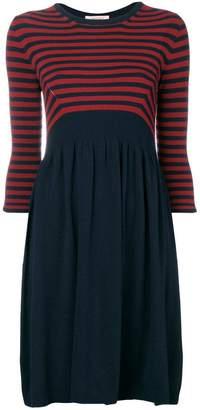 Twin-Set striped knit dress