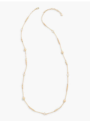 Talbots Long Metal Layer Necklace