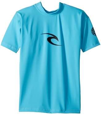 Rip Curl Kids Corpo Short Sleeve UV Tee Boy's Swimwear