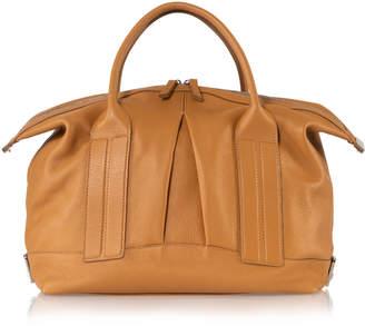 Joanna Maxham Cast Away Pebbled Honey Leather Satchel