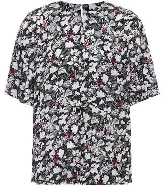 Acne Studios Lejana floral-printed silk blouse