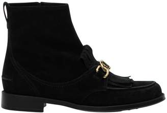 Tod's Fringed Booties