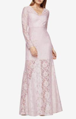 BCBGMAXAZRIA Daysha Lace Gown
