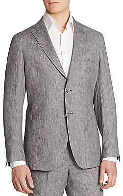 Saks Fifth Avenue Men's COLLECTION Garment-Washed Linen Suit Jacket