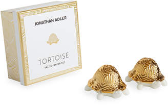 Jonathan Adler Tortoise Salt & Pepper Set