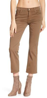 J Brand Selena Mid-Rise Crop Bootcut Leg Jeans