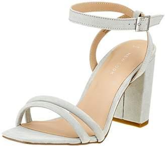 New Look Women's 5718519 Open Toe Sandals, (Mint Green 37), 37 EU