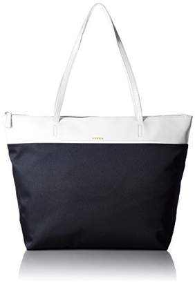 Ambell (アンベル) - [アンベル] AMBELL トートバッグ バイカラー L BAG 502 OFF WHITE×NAVY (OFF WHITE×NAVY)