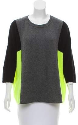 Aqua Cashmere Knit Sweater