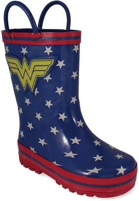 DC Comics Wonder Woman Toddler Girls' Rain Boots