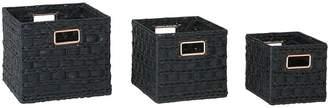 Very Square Storage Baskets - Set of 3
