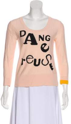 Sonia Rykiel Graphic Intarsia Sweater