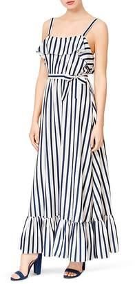 Betsey Johnson Striped Maxi Dress
