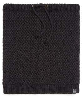 BICKLEY + MITCHELL Faux Sherpa-Lined Woven Snood