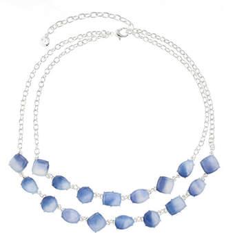 Gloria Vanderbilt Womens Round Collar Necklace