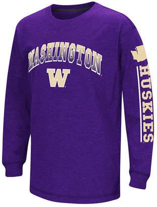 Colosseum Washington Huskies Grandstand Long Sleeve T-Shirt, Big Boys (8-20)