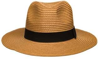 707204171 Pop Fashionwear Women s Wide Brim Fedora Hat Spring Summer 126SH