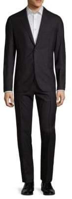 Valentino Abiti Pleat-Front Suit