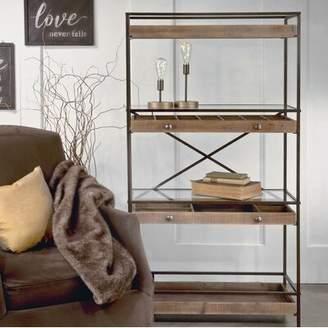 Gracie Oaks Cooksey Display Shelf Etagere Bookcase Gracie Oaks