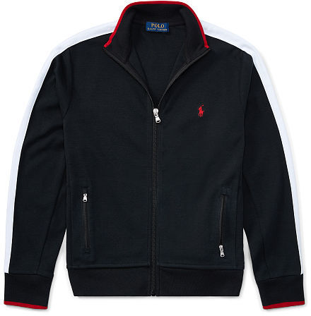 Ralph Lauren Boys 8-20 Cotton Interlock Track Jacket