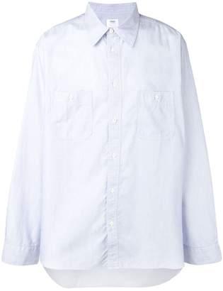 Visvim long-sleeve fitted shirt