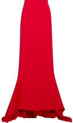 Antonio Berardi Fluted Stretch-Crepe Maxi Skirt